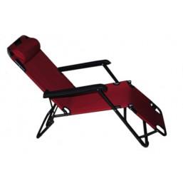 Кресло с подушкой шезлонг 13755