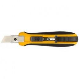 Нож OLFA с выдвижным трапецевидным лезвием, автофиксатор, 17,5мм