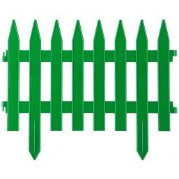 """Забор декоративный GRINDA """"КЛАССИКА"""", 28x300см, зеленый"""