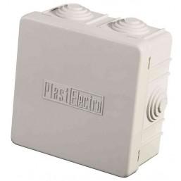 Коробка распределительная СВЕТОЗАР для наружного монтажа, макс. напряжение 400В, IP 54, 4 ввода, 65х
