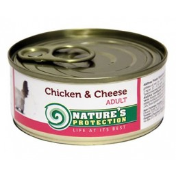 NP Cat Chicken&Cheese 100g cat food