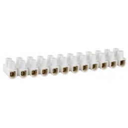 Колодки СВЕТОЗАР зажимные винтовые (КЗВ) , макс. ток 10А, сечение подкл. проводов 10мм2