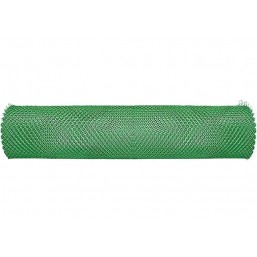 Сетка газонная в рулоне 2х30, ячейка 32х32 мм - зеленая   64501
