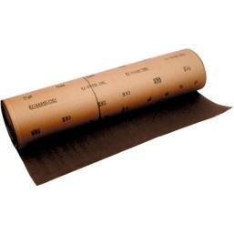 Шкурка на тканевой основе, зернистость № 16, 800 мм х 30 м (БАЗ)  75223