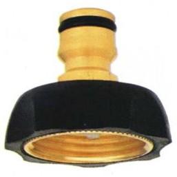 Адаптер 1432 латунно-резиновый   GF (Италия)