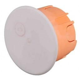 Коробка монтажная СВЕТОЗАР для подштукатурного монтажа, макс. напряжение 400В, с крышкой, 68х47мм, к