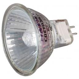 Лампа галогенная СВЕТОЗАР с защитным стеклом, цоколь GU5.3, диаметр 51мм, 35Вт, 220В