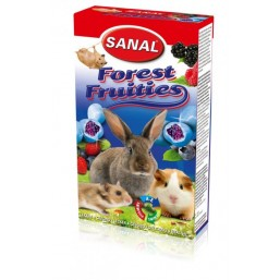 SK7713 SANAL (для грыз)  NEW  Forest Fruities 50 г (с Черникой) (14/224 шт.)