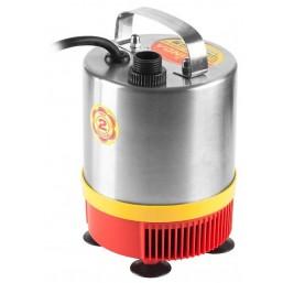 Насос GRINDA фонтанный д/чистой воды, нерж. сталь, 3 насадки, пропуск. способ. 1400 л/ч, высота пода