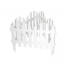 """Забор декоративный """"Ренессанс"""", 28 х 300 см, белый  65020"""