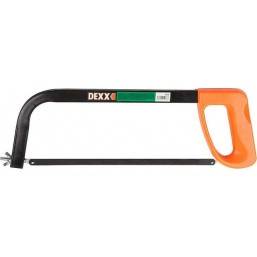 Ножовка DEXX по металлу с пластиковой рукояткой, 300мм