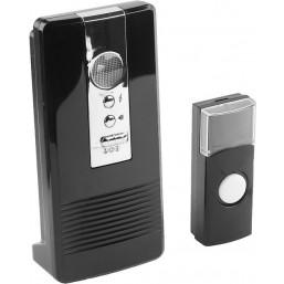 "Звонок СВЕТОЗАР ""КАРАТ"" электр беспровод 100м, 36 полиф мелодий, 3 режима индикации, программ.кнопка"