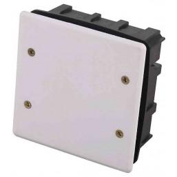 Коробка монтажная СВЕТОЗАР для подштукатурного монтажа, макс. напряжение 400В, с крышкой, 100х100х50