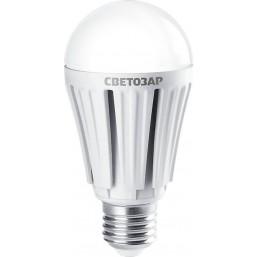 "Лампа СВЕТОЗАР светодиодная ""LED technology"", цоколь E27(стандарт), теплый белый свет (2700К), 220В, 75"