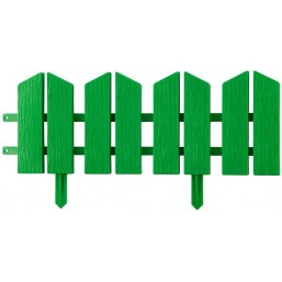 "Бордюр декоративный GRINDA ""ЛЕТНИЙ САД"", 16х300см, зеленый"