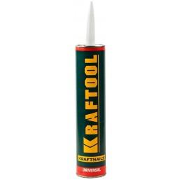 Клей монтажный KRAFTOOL KraftNails Premium  KN-601, универсальный, для наружных и внутренних работ,300мл mod