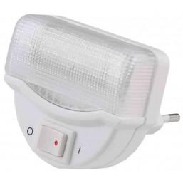 Светильник-ночник СВЕТОЗАР, линейная люминесцентная лампа, с выключателем, 1W, цветовая температура
