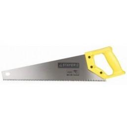 """Ножовка STAYER """"STANDARD"""" по дереву, пластиковая ручка, универсальный закаленный зуб, 5 TPI (5мм), 45"""