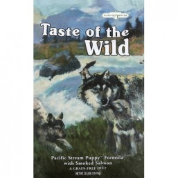 Taste of the Wild  Pacific Stream Puppy Для щенков с копченым лососем  13,61 кг