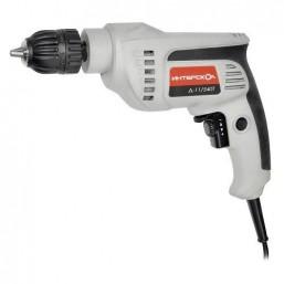 Дрель Д-11/540Т Интерскол, потребляемая мощность: 540 Вт Номинальное напряжение: 220V/50Гц Частота в