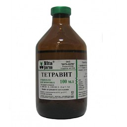 Тетравит 100 мл орально-инъекционный