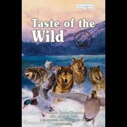 Taste of the Wild  Wetlands Wild Fowl Для взрослых собак с запеченной дичью 13,61 кг