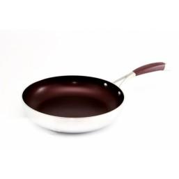 1794 GIPFEL Сковорода FLAVOUR красная 24х5,3 см