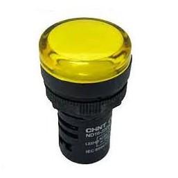 Световой светодиодный индикатор ND19 ND16-22DS/2 YELLOW  (желтый) Chint