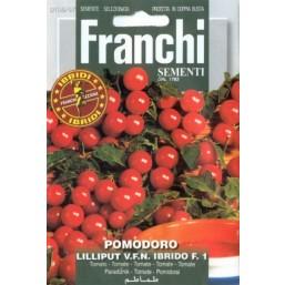 """Семена """"Помидор Lilliput v.f.n. Ibrido F"""" 10 гр 106/67 Franchi Sementi"""
