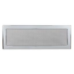 Решетка вентиляционная никелированная Dospel 17х49