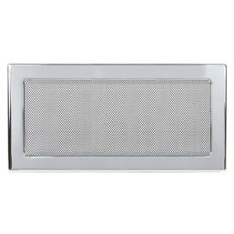 Решетка вентиляционная никелированная Dospel 17х37
