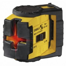 Лазерный уровень Stabila LAX 200 2-х линейный лаз. Прибор. В наборе