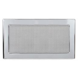 Решетка вентиляционная никелированная Dospel 17х30