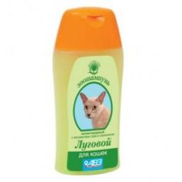 Шампунь Луговой  для кошек 180мл. Против блох