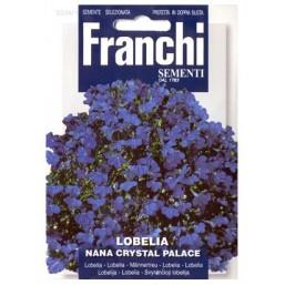 Лобелия компактная синяя Crystal Palace  VXF 334/1   Franchi Sementi