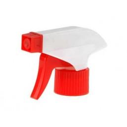 Головки-пульверизаторы GRINDA для пластиковых бутылок, цвет красный/белый