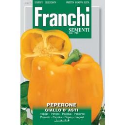 Перец сладкий Giallo Asti 50гр  I 97/1   Franchi Sementi