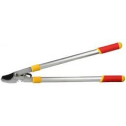 Сучкорез GRINDA с зубчатой передачей, алюминиевые ручки, тефлон покрытие, макс. диаметр реза - 30мм, 745мм