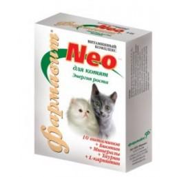 Фармавит НЕО для котят 60т. энергия роста