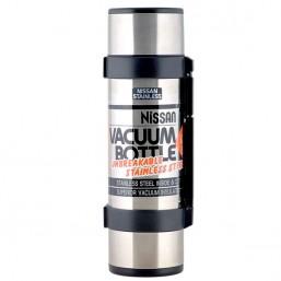 Термос NCB-B12 Rocket Bottle Nissan Black 1.2 л.(нерж.сталь, 2 пласт.чашки, вес 940г.,тепло/холод)