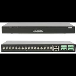 Пассивный 16-канальный приёмник видеосигнала по витой паре UTP PV-Link PV-1601R