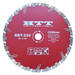 Диск алмазный, ROBUST-RBT  - 230 х 3,0 x 8 х 22.23 мм