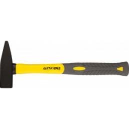 """Молоток STAYER """"PROFI"""" слесарный кованый с двухкомпонентной фиберглассовой ручкой, 2,0кг"""
