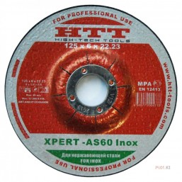 XPERT -AS46 Inox, 230 x 1.9 x 22.23MM
