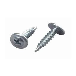 Саморезы ЗУБР с прессшайбой по листовому металлу до 0,9мм, PH2, 4,2х14мм, ТФ6, 20шт