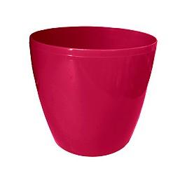 Горшок Магнолия 210мм, цвет бордовый