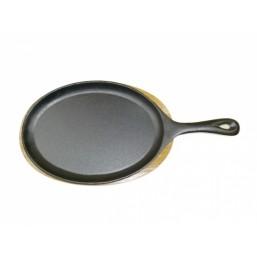 2236 GIPFEL Сковорода порционная с подставкой и длинной ручкой серии DILETTO 38x18.5 см