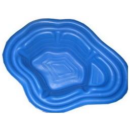 Пруд синий 140*105*45 см (190л)