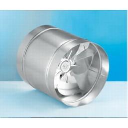 Осевой канальный вентилятор с удлиненным корпусом (металлический) Dospel WB 300