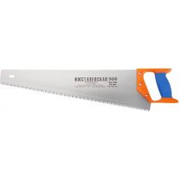 Ножовка по дереву, 500 мм, шаг зубьев 6,5 мм (Ижевск)  23165